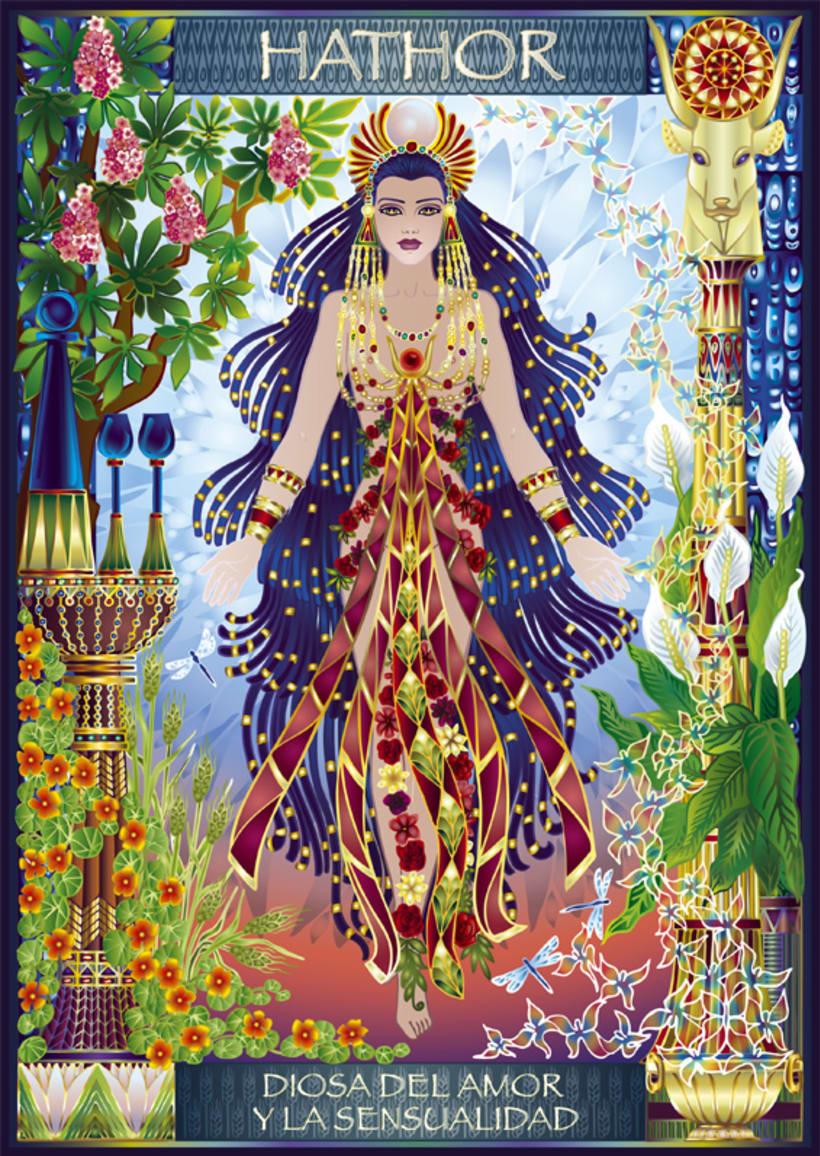 Calendario Diosas de Egipto 3