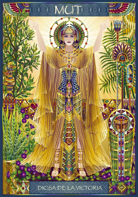 Calendario Diosas de Egipto 4