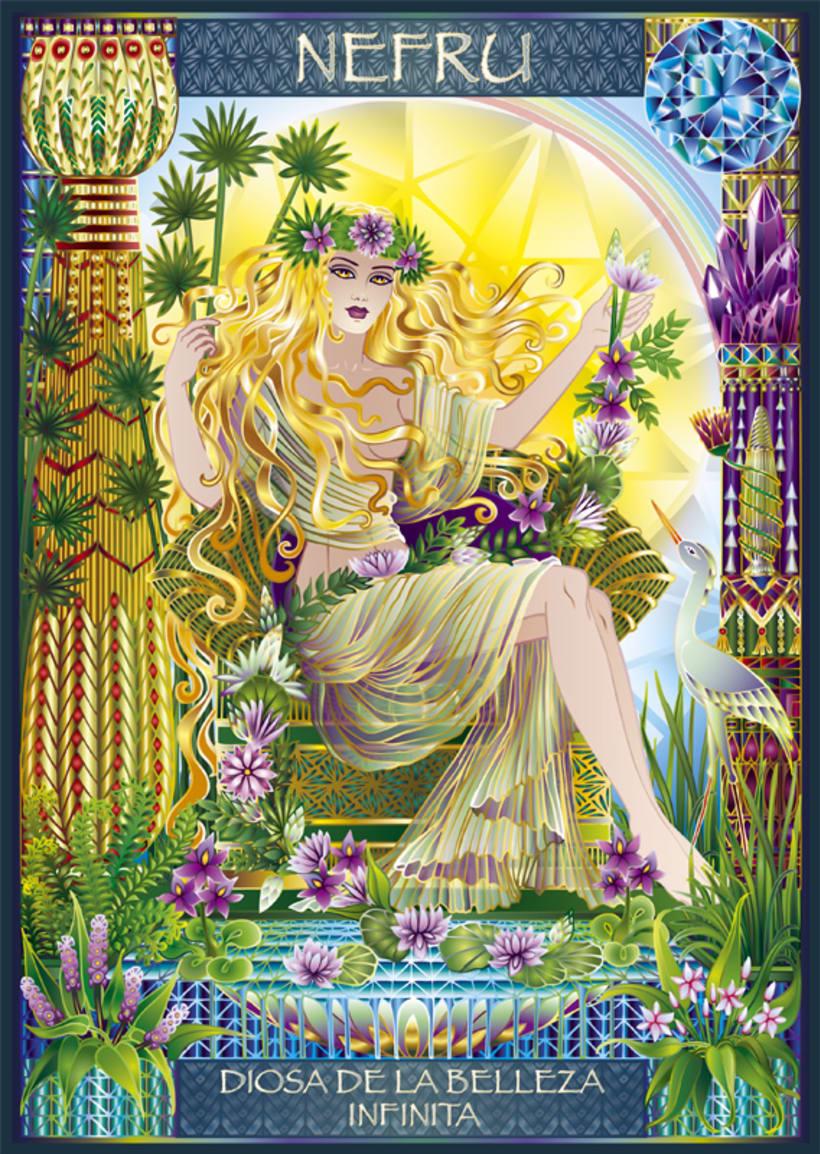 Calendario Diosas de Egipto 5