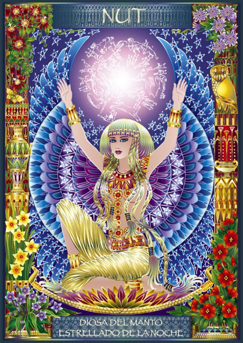 Calendario Diosas de Egipto 6