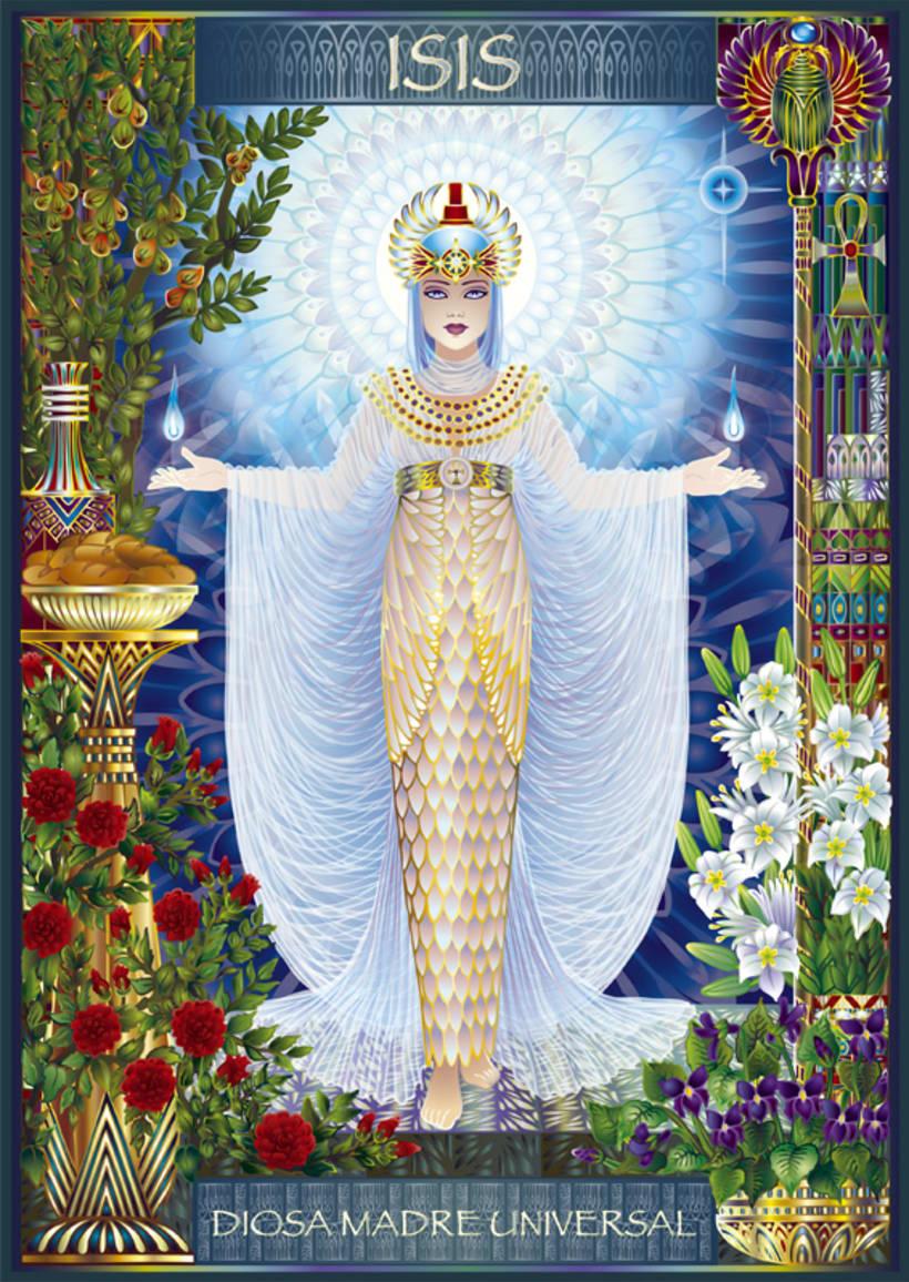 Calendario Diosas de Egipto 7