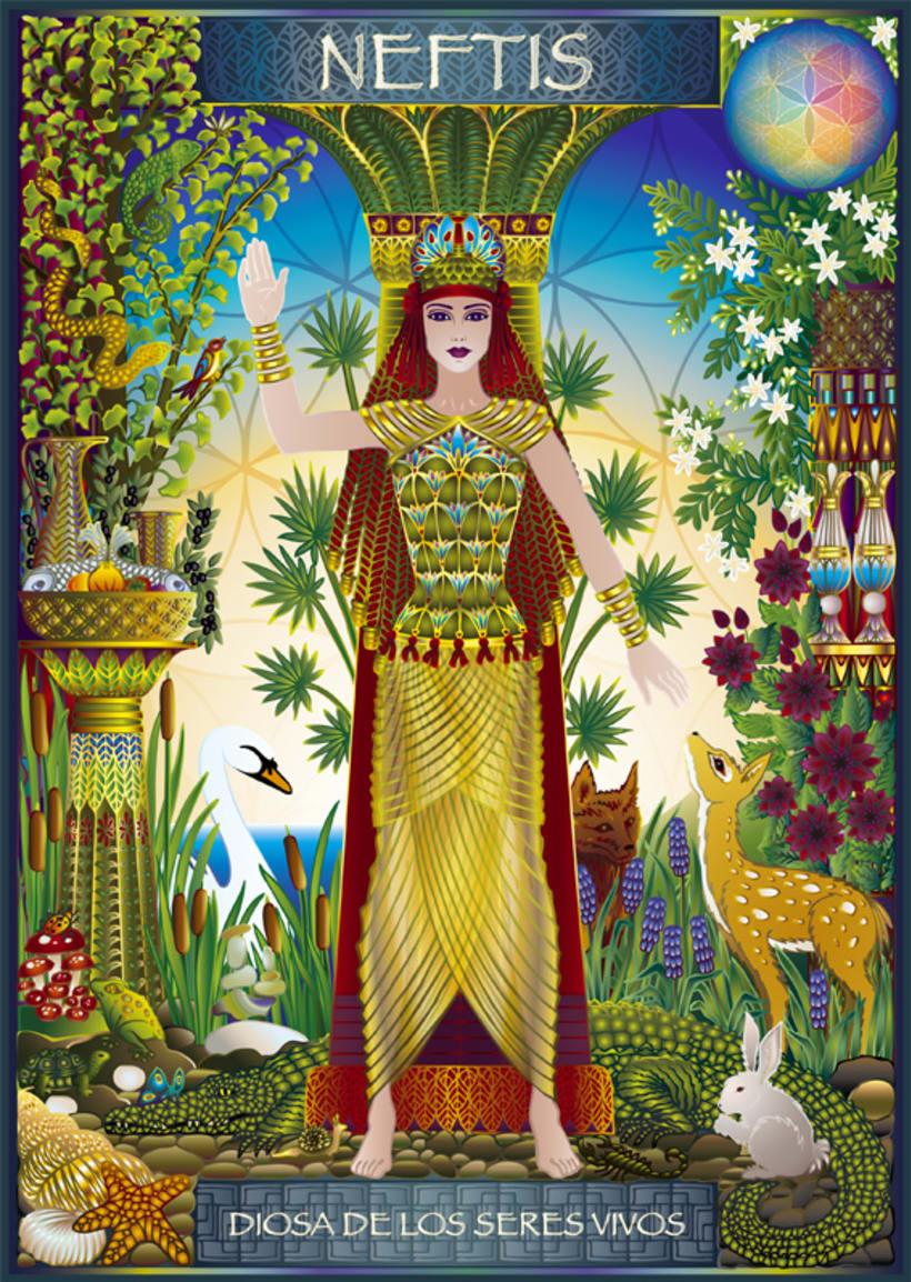 Calendario Diosas de Egipto 9