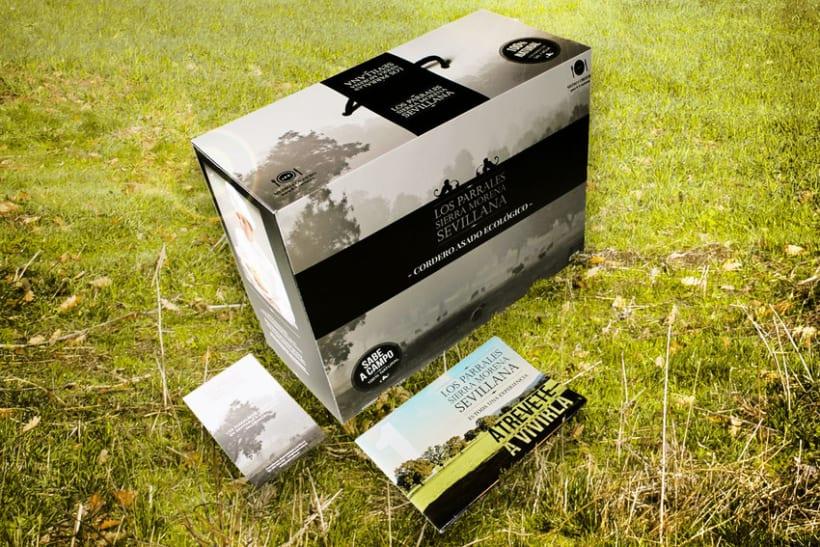 Los Parrales| Packaging  para Cordero Ecológico  0