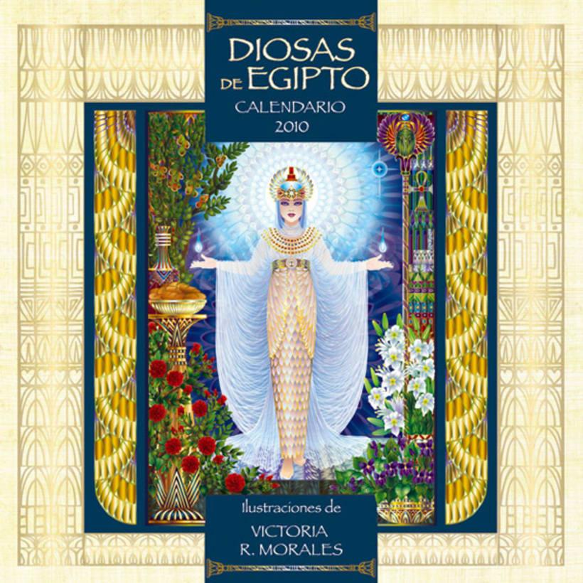 Calendario Diosas de Egipto 11
