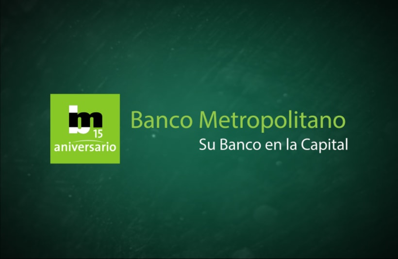 Banco Metropolitano, 15 Aniversario 13