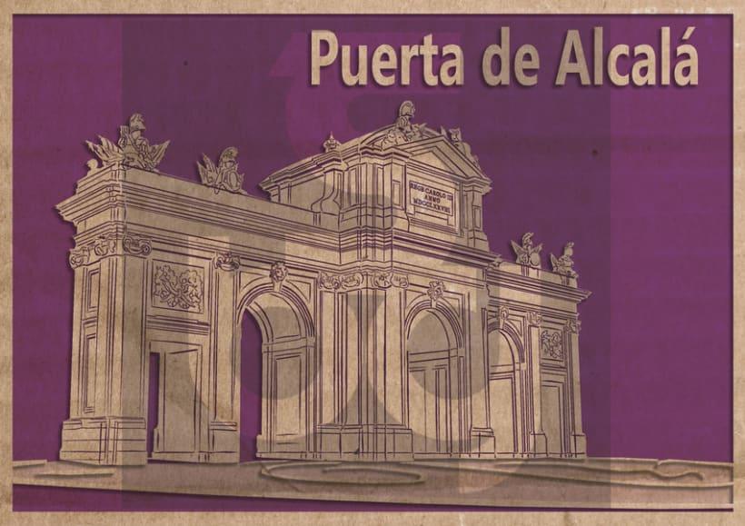 Ilustración Puerta de Alcalá -1