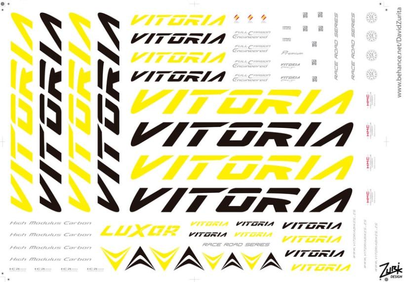 VITORIA BIKES: Diseño de calcas al agua para bicicletas (Arte final). 8