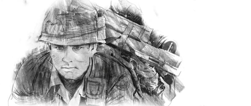 Ilustraciones titulos de crédito (Forrest Gump) 2