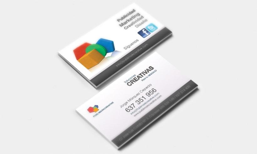 Diseño de tarjetas de visita 0