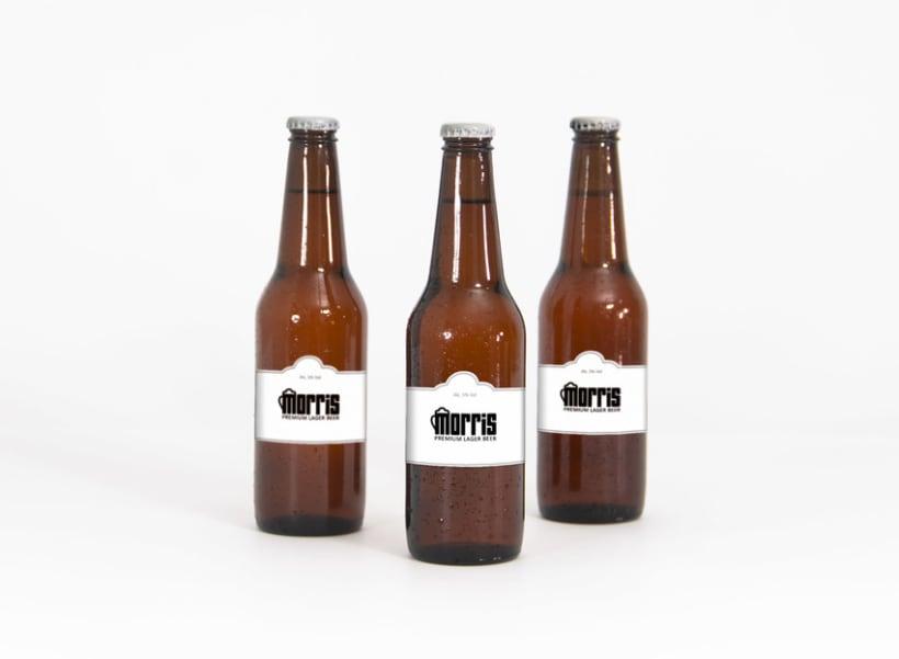 Cerveza Morris - Branding 2