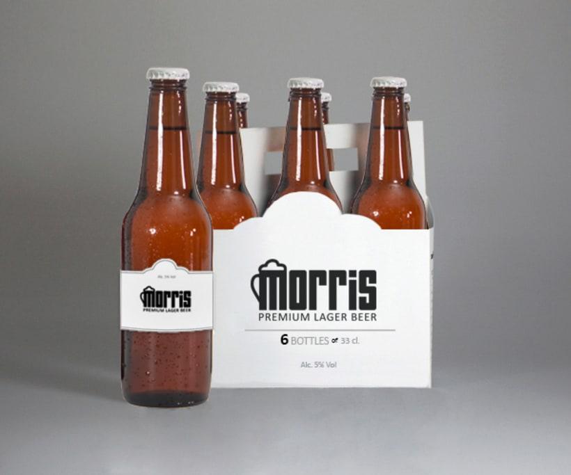 Cerveza Morris - Branding 3