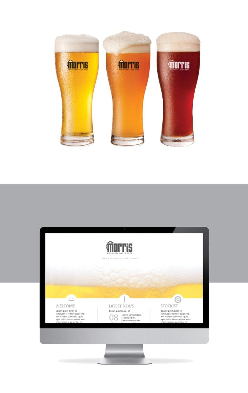 Cerveza Morris - Branding 4