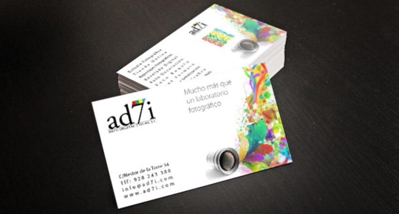 Branding - Estudio Fotográfico y Diseño - Arte Digital 7 Islas 0