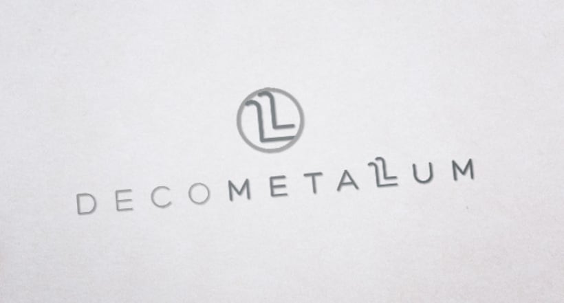 Logotipo, Tarjetas y Sello - Decometallum -1