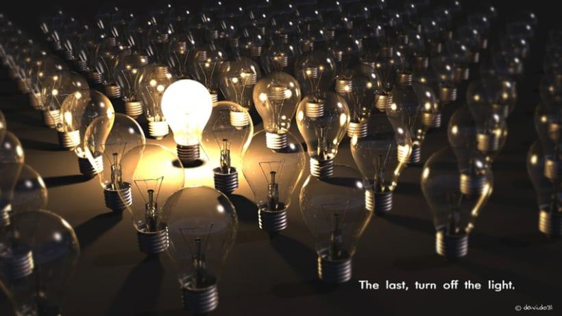 El ultimo apaga las luces.  0