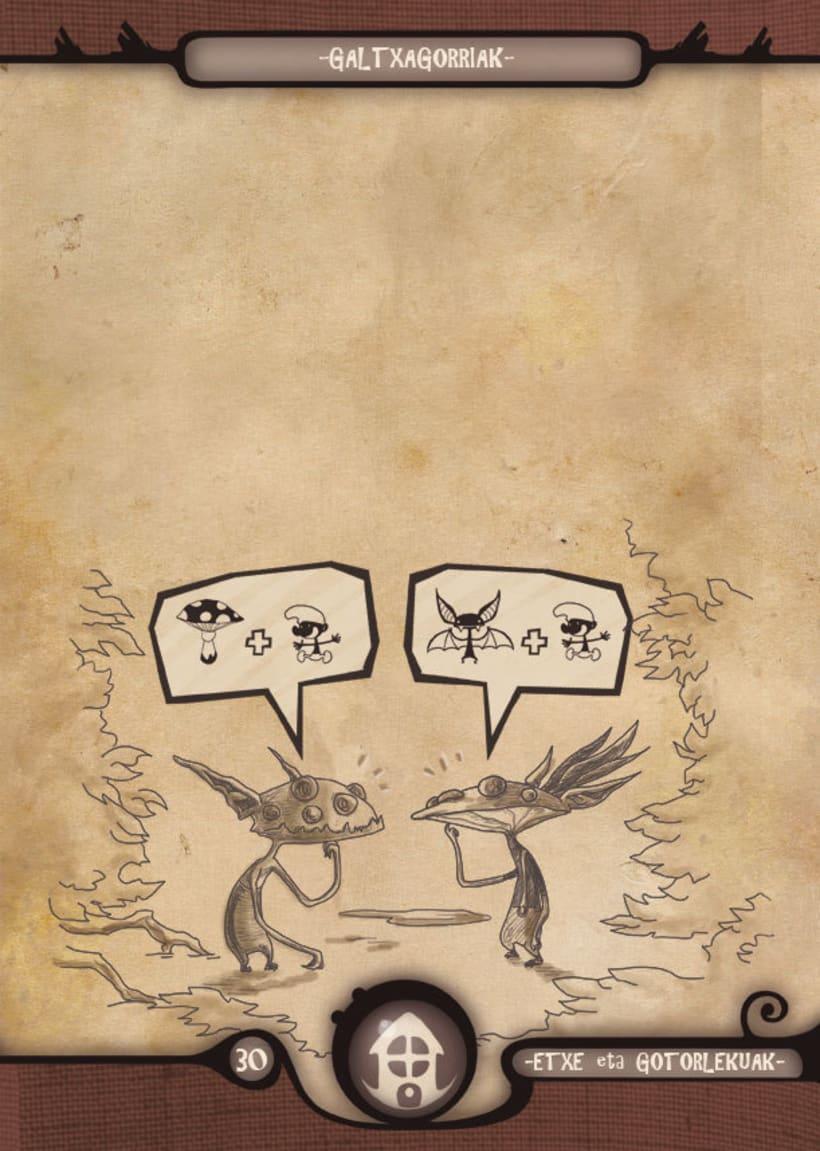 Mariren Seme-Alabak: Grimorio ilustrado sobre la mitología vasca. 6
