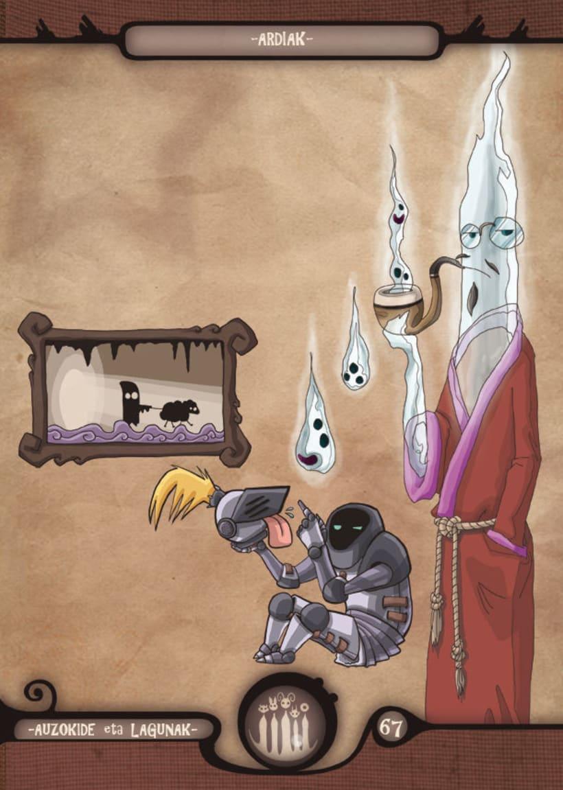 Mariren Seme-Alabak: Grimorio ilustrado sobre la mitología vasca. 4