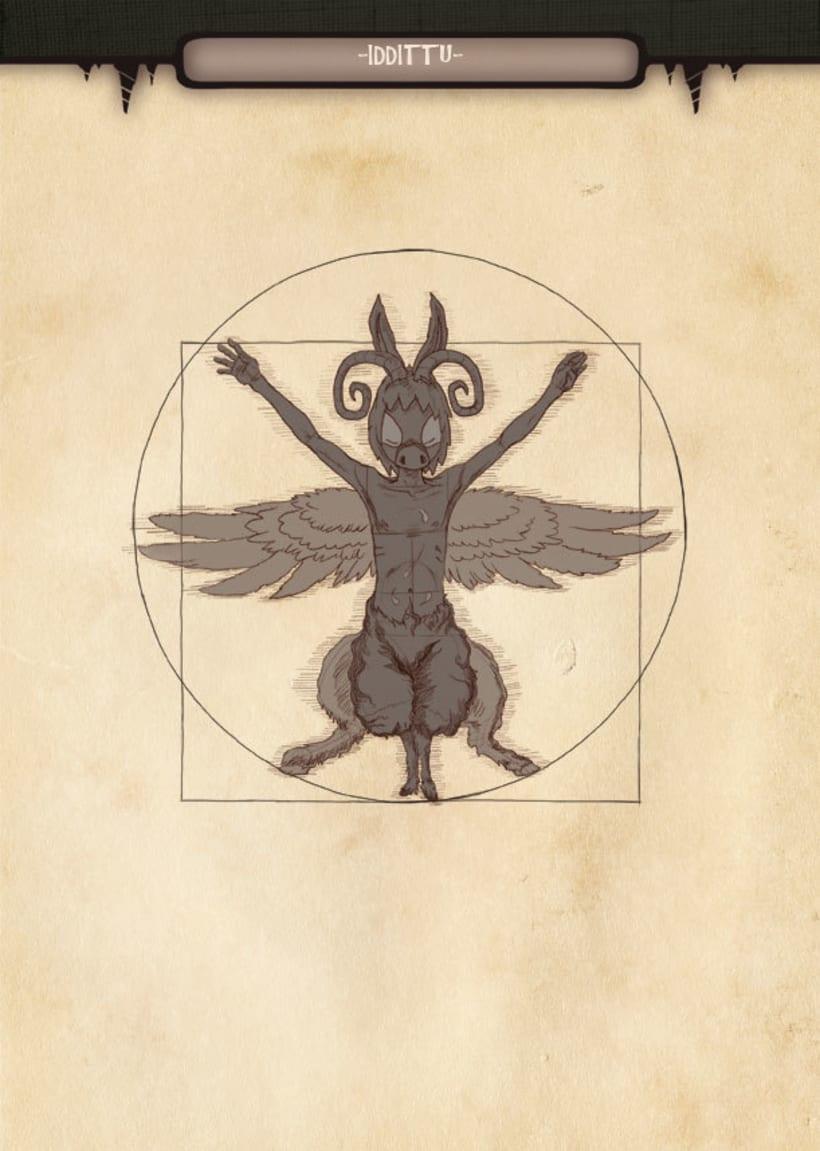 Mariren Seme-Alabak: Grimorio ilustrado sobre la mitología vasca. 7