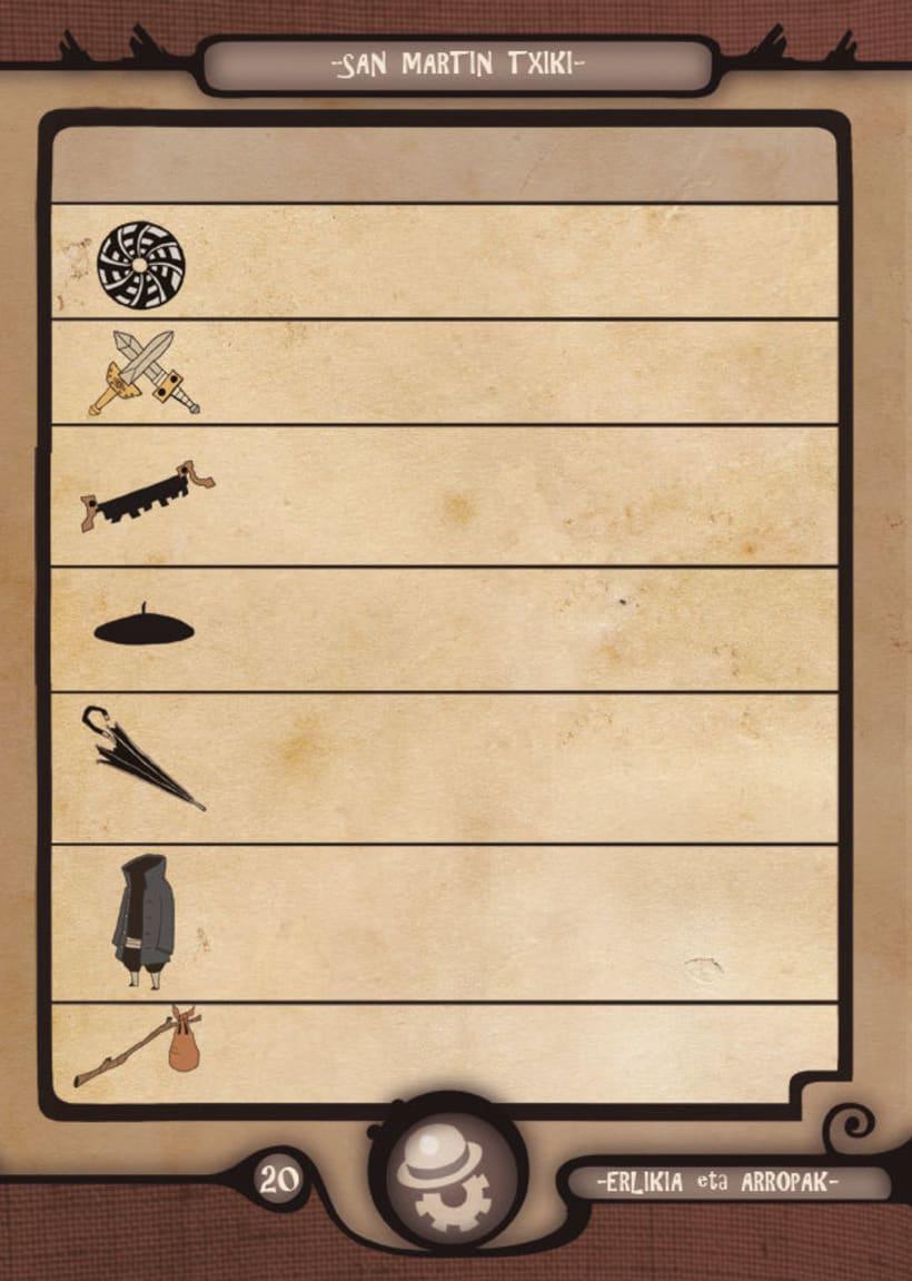 Mariren Seme-Alabak: Grimorio ilustrado sobre la mitología vasca. 8