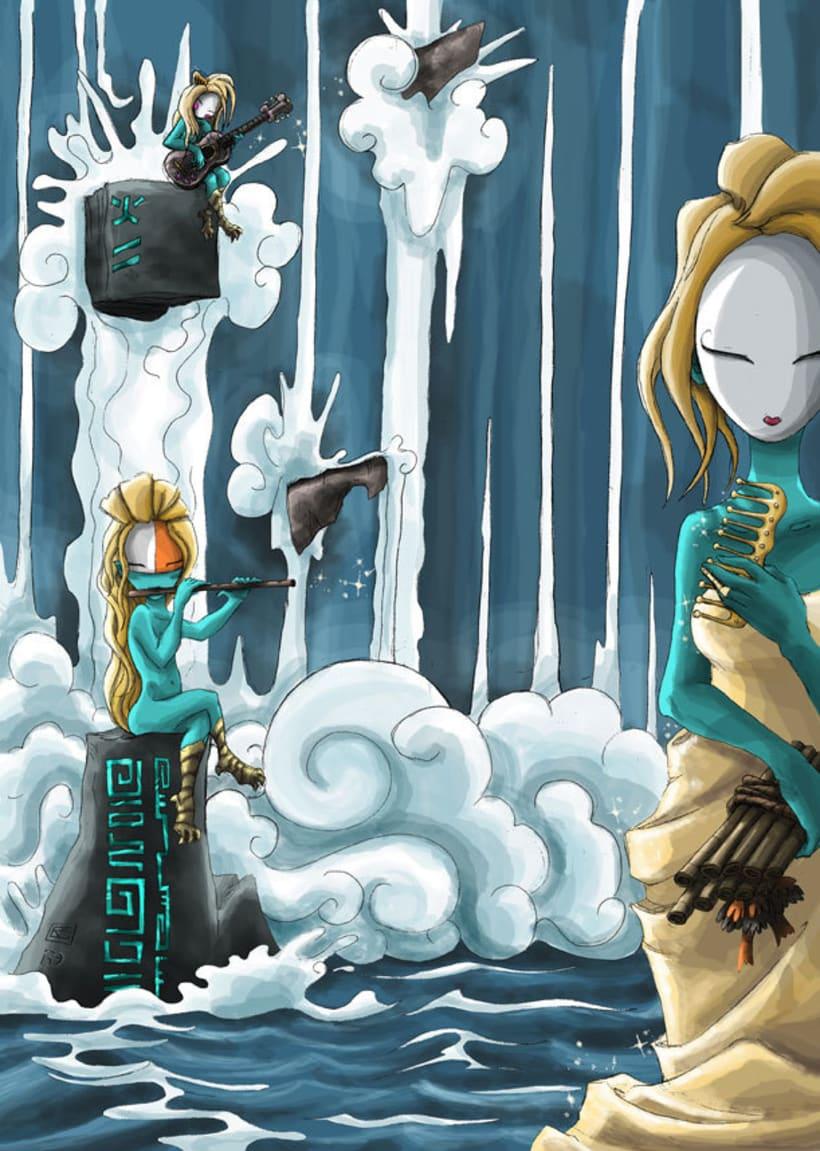Mariren Seme-Alabak: Grimorio ilustrado sobre la mitología vasca. 1