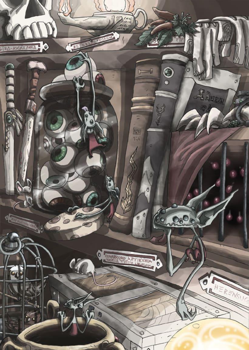 Mariren Seme-Alabak: Grimorio ilustrado sobre la mitología vasca. 2
