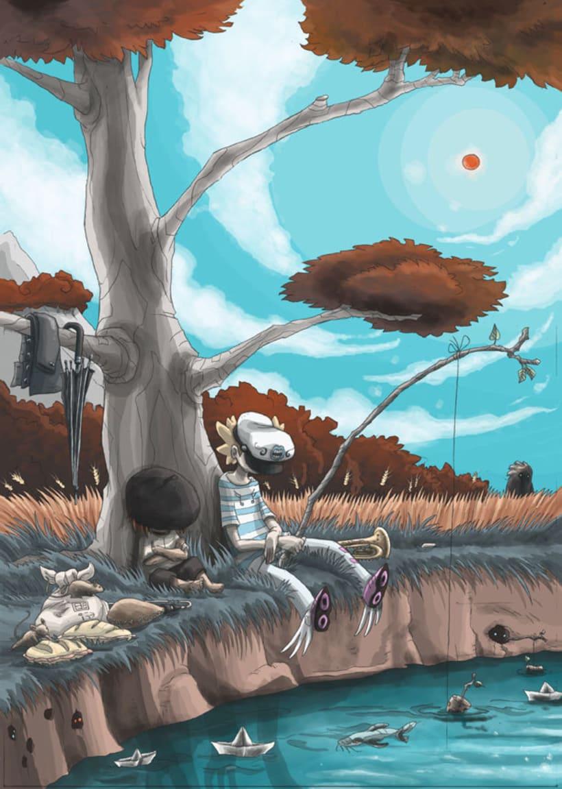 Mariren Seme-Alabak: Grimorio ilustrado sobre la mitología vasca. 3
