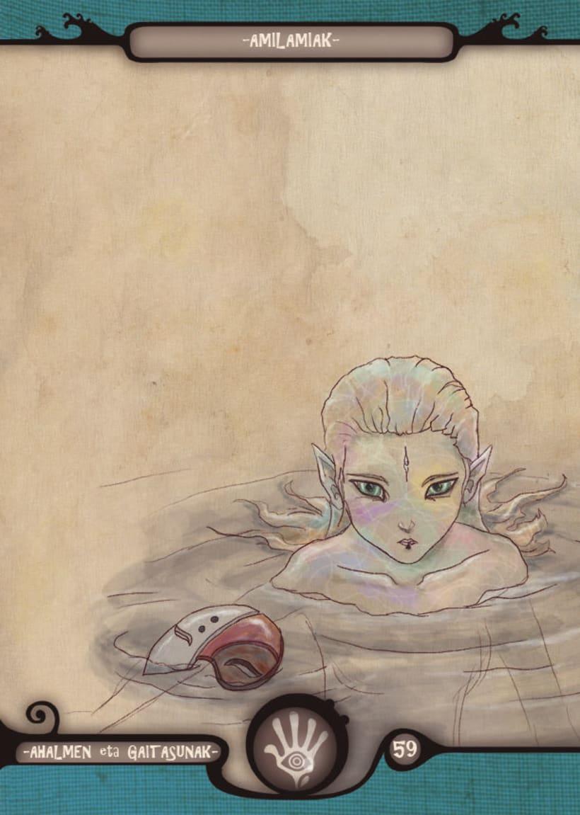 Mariren Seme-Alabak: Grimorio ilustrado sobre la mitología vasca. 13