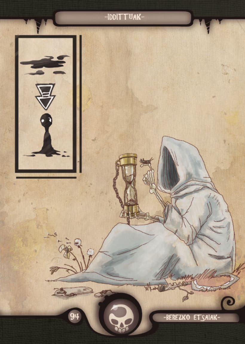 Mariren Seme-Alabak: Grimorio ilustrado sobre la mitología vasca. 12