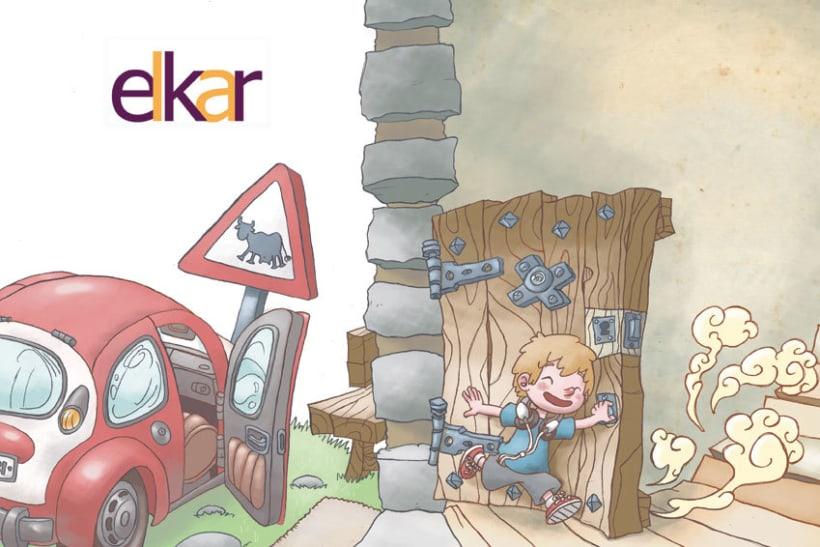 Elkar: Ilustraciones para cuentos infantiles. 1