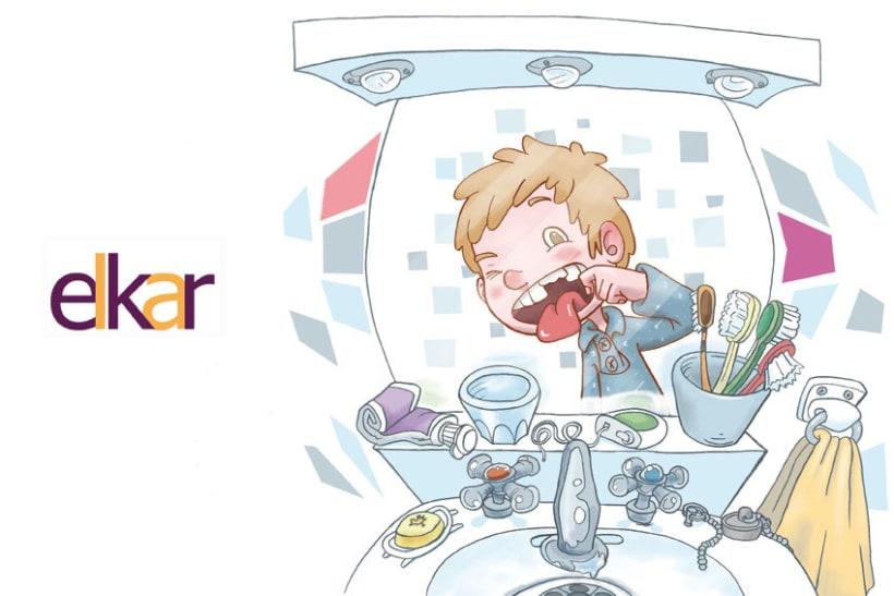Elkar: Ilustraciones para cuentos infantiles. 3