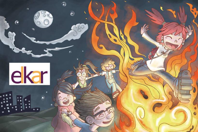 Elkar: Ilustraciones para cuentos infantiles. 4