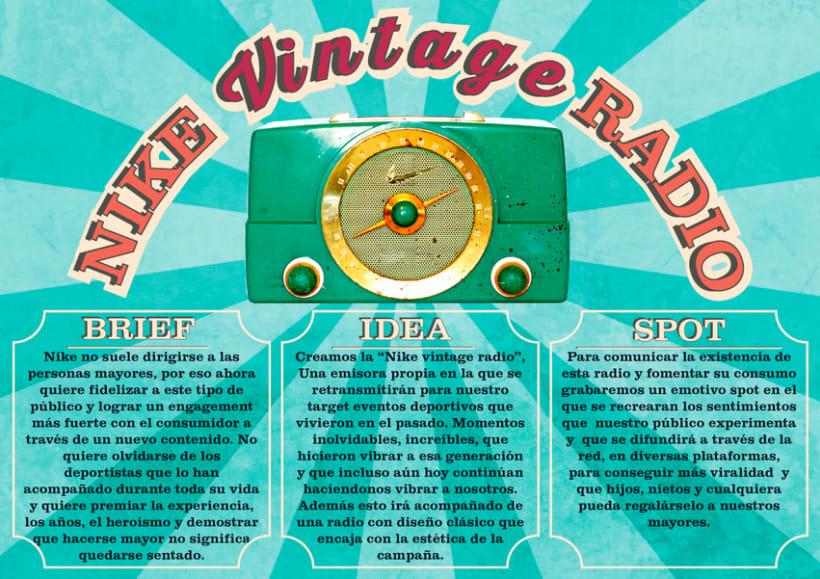Nike Vintage Radio 0