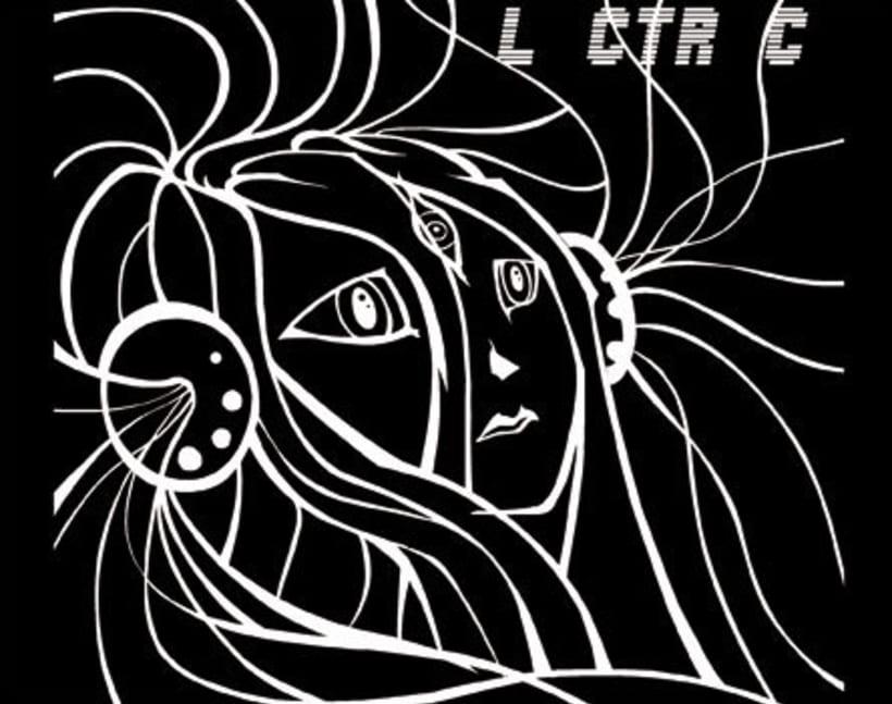 Electric Hentaigrama: Portada para disco musical 0
