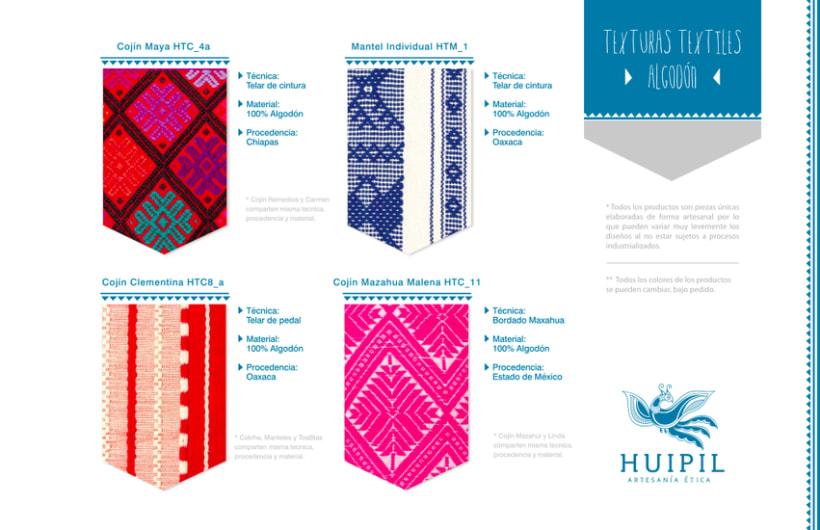 Catálogo Huipil Artesanías 17
