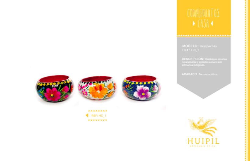 Catálogo Huipil Artesanías 14