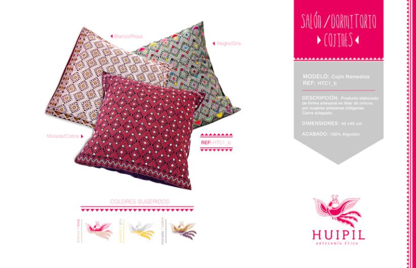 Catálogo Huipil Artesanías 6
