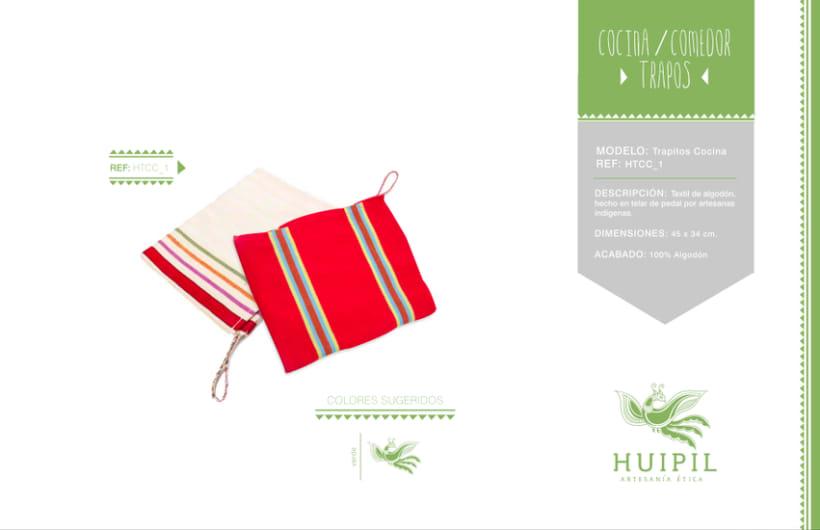 Catálogo Huipil Artesanías 11