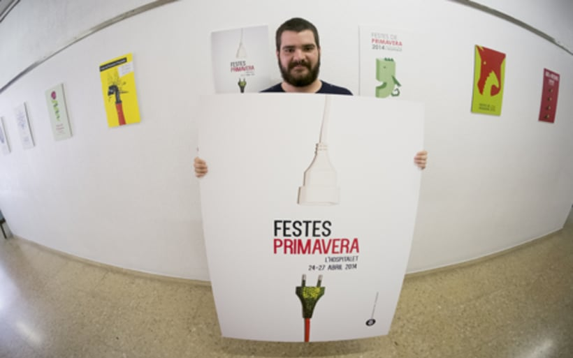 Cartel Festes de Primavera de l'Hospitalet 2014 -1