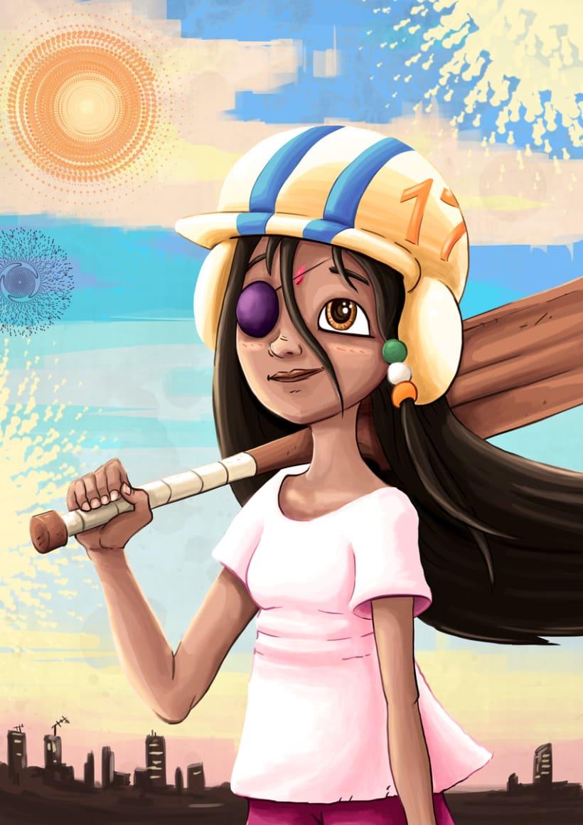 Indian Cricket Girl -1