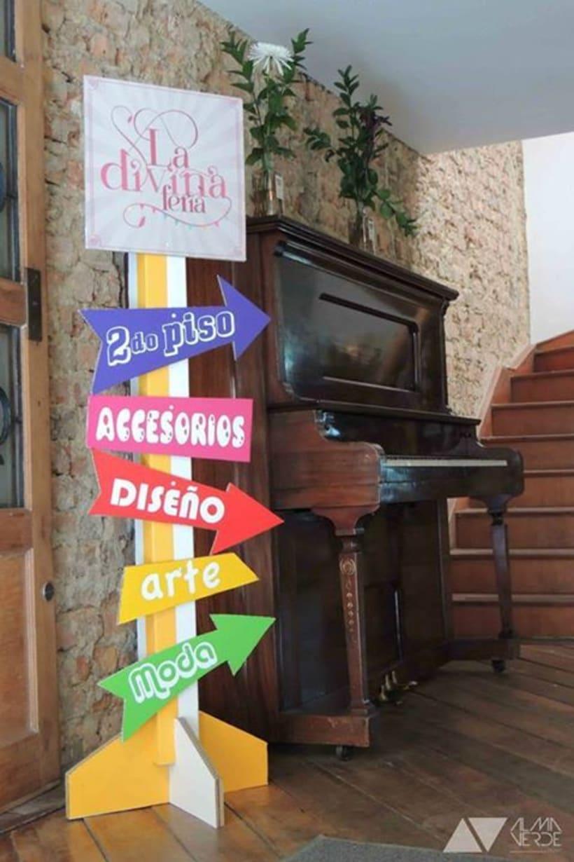 La divina Feria 2014 - Intervención espacios y exhibición 4