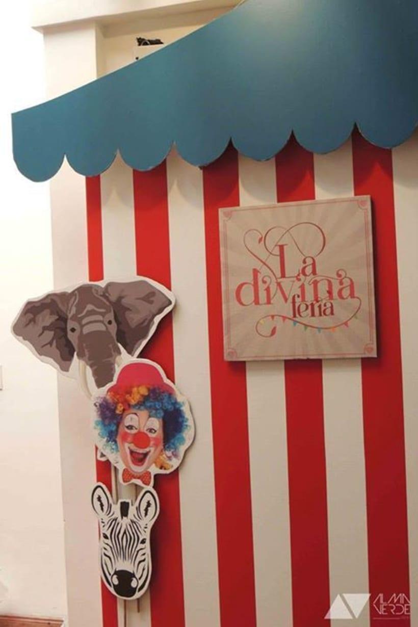 La divina Feria 2014 - Intervención espacios y exhibición 5