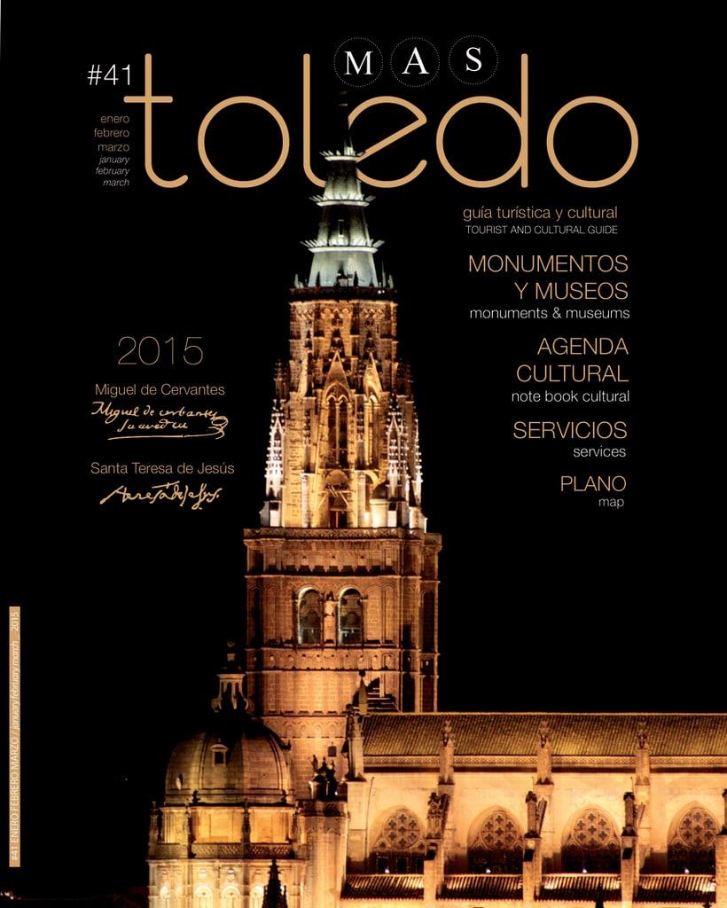 """Número 41 de """"TOLEDO, guía turística y cultural"""" 0"""