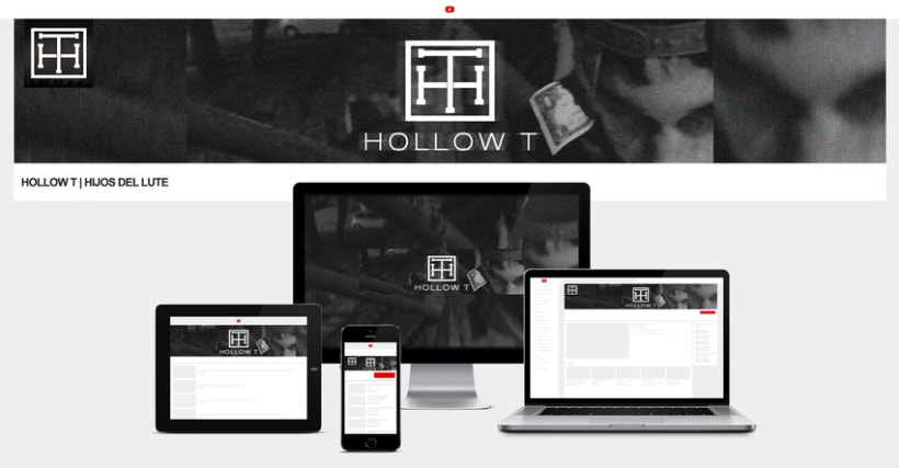HOLLOW T - Logo y banners. 0