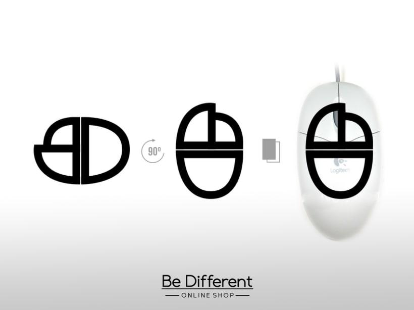 Be Different Shop - Web y Logo 2