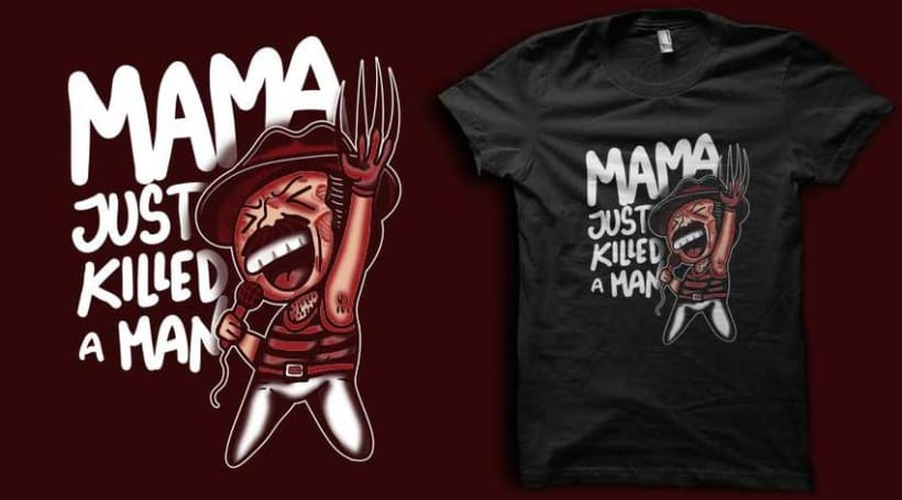 ilustraciones para camisetas 12