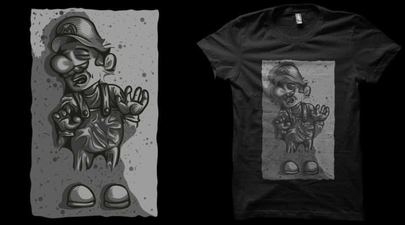 ilustraciones para camisetas 22