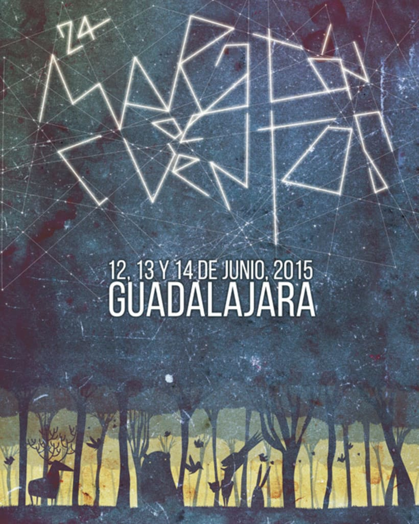 24 Maratón de los cuentos de Guadalajara 2015, ganador y finalista. -1