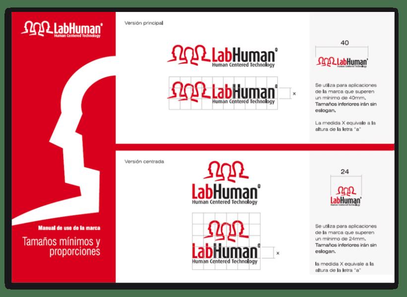 Imagen Corporativa del Instituto LabHuman - UPV 1