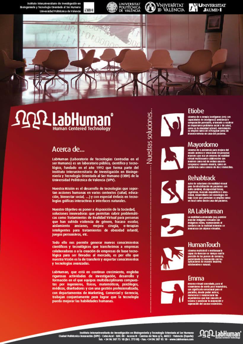 Imagen Corporativa del Instituto LabHuman - UPV 2