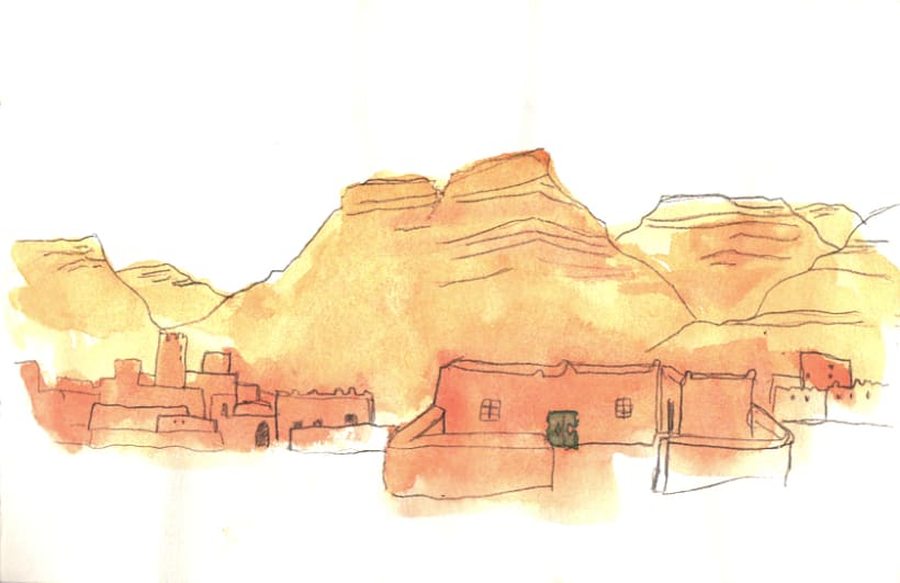 Morocco Sketchbook 3